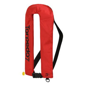 Torpedo7 Manual Inflatable Life Jacket - Red