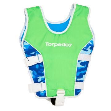 Torpedo7 Kids Swim Vest - Fluro Green