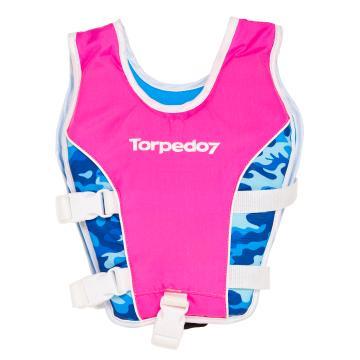 Torpedo7 Kids Swim Vest - Hot Pink