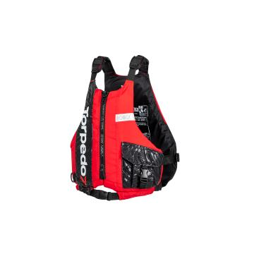 Torpedo7 Adults Voyager Paddle Vest - With Cosmetic Damage - Red/Black