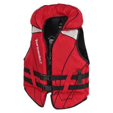 Torpedo7 Youth Gulf II Inshore Life Jacket - Red