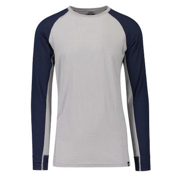 Torpedo7 Men's Summit Long Sleeve Tee V2 - Alloy