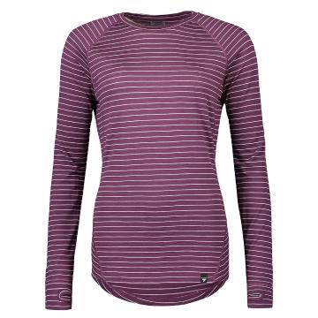 Torpedo7 Women's Summit Long Sleeve Tee V2 - Plum