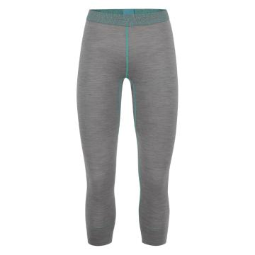 Torpedo7 Women's Alta Ski 3/4 Leggings V3 - Grey Marle