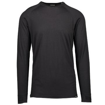 Torpedo7 Men's Merino Summit Long Sleeve Tee - V2 - Black