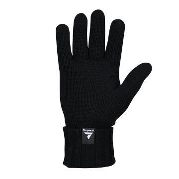 Torpedo7 Unisex Merino Gloves - Black