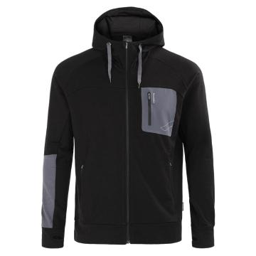 Torpedo7 Men's Merino Hatton Hooded Jacket - Black