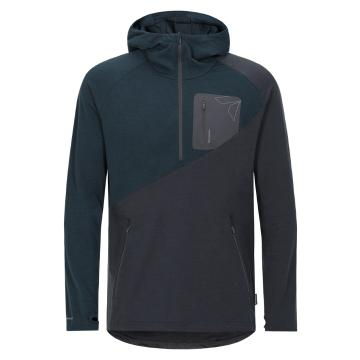 Torpedo7 Men's Merino Eco Long Sleeve 1/2 Zip Hoodie