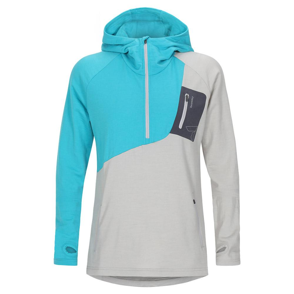 Women's Merino Eco Long Sleeve 1/2 Zip Hoodie