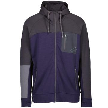 Torpedo7 Men's Hatton Hooded Jacket - Indigo/Charcoal