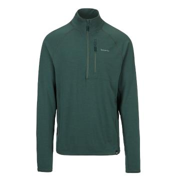 Torpedo7 Men's Merino Ridge 1/4 Zip - sycamore