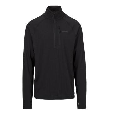 Torpedo7 Men's Merino Ridge 1/4 Zip - Black