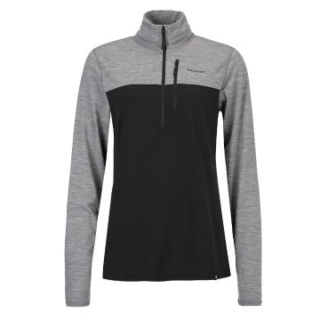 Torpedo7 Women's Merino Ridge 1/4 Zip - Black