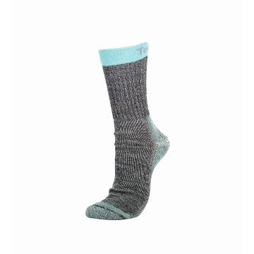 Torpedo7 Aspire Hiking Socks - Charcoal/Aqua