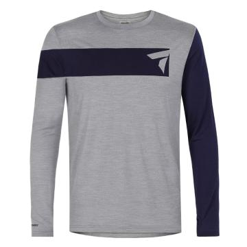 Torpedo7 Men's Merino Slider Long Sleeve Tee