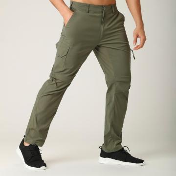 Torpedo7 Men's Atlas Zip Off Pants - Khaki