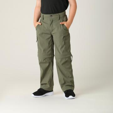 Torpedo7 Boys' Atlas Zip Off Pants - Khaki