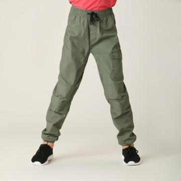 Torpedo7 Youth Sidetrack Cuffed Pants - Khaki