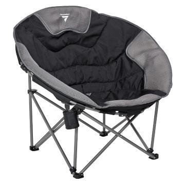 Torpedo7 Super Deluxe Moon Chair - Black/Grey