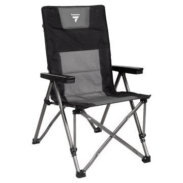 Torpedo7 High Roller Camping Chair - Black/Grey