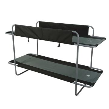 Torpedo7 Deluxe Bunk Beds - Black/Grey