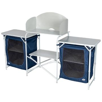 Torpedo7 Deluxe Gourmet Kitchen and Shelves - Blue