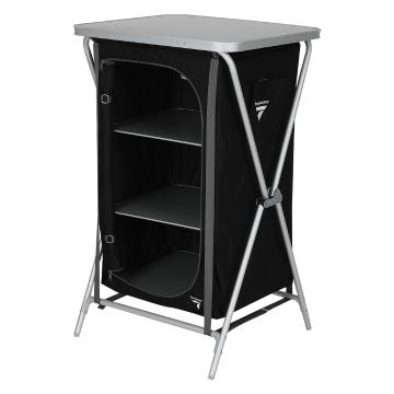Torpedo7 Stowaway 3 Shelf Cupboard - Black