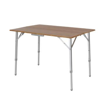 Torpedo7 Mandalay Deluxe Bamboo Top Table - Aluminium