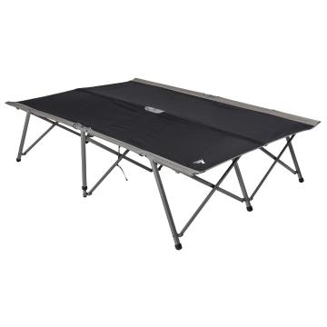 Torpedo7 Sahara Double Folding Campbed - Black/Grey