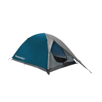 Torpedo7 Hideaway 2-Person Tent - Petrol/Grey