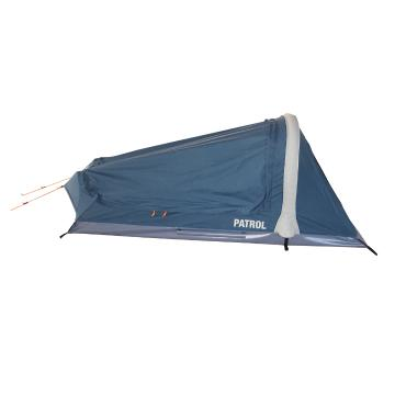 Torpedo7 Patrol Inflatable Canvas Swag Tent - Ink/Grey