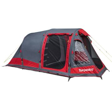 Torpedo7 Air Series 300 Tent - Chilli Red/Grey