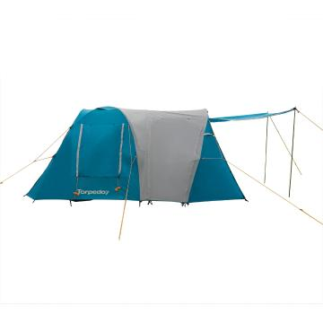 Torpedo7 Tongariro 6 Person Tent - Petrol/Grey