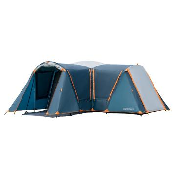 Torpedo7 Discovery 12 Person Tent - Ink/Grey