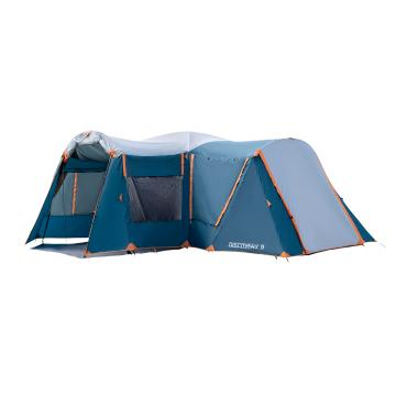 Torpedo7 Discovery 9 Person Tent - Ink/Grey