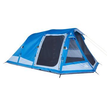 Torpedo7 Air Series 500 Inflatable Tent 5 Person - Vallarta Blue