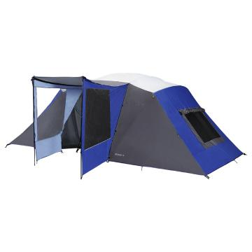 Torpedo7 Resort 4 Room Large Family Tent - Blue/Grey/Silver