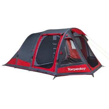 Torpedo7 Air Series 500 Tent - Chilli Red/Grey