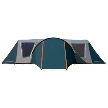 Torpedo7 Grande 3-Room Family Dome Tent - Ink/Grey