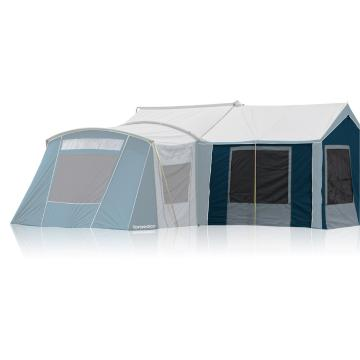 Torpedo7 Universal Canvas 3 Wall Sunroom - Ink/Grey