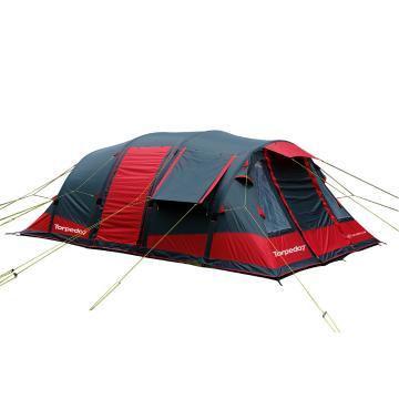 Torpedo7 Air Series 600 Tent - Chilli Red/Grey