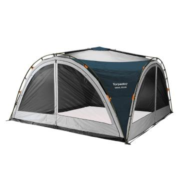 Torpedo7 Corral Deluxe Family Shelter - Ink/Grey