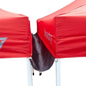 Torpedo7 Folding Tent 3x3 - Gutter - Black - Black
