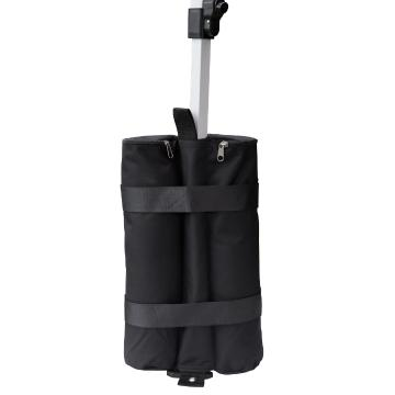 Torpedo7 Folding Tent 3x3-Deluxe Sandbag Single - Black