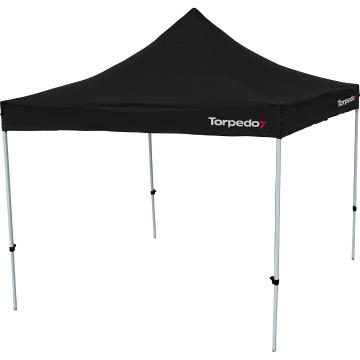 Torpedo7 Folding Gazebo 3x3 - Black