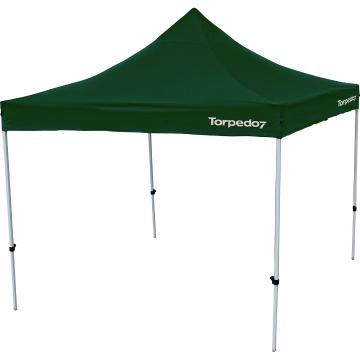 Torpedo7 Folding Gazebo 3x3 - Hunter Green