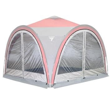 Torpedo7 Corral 3 Mesh Side Wall with Zip - Silver Cloud