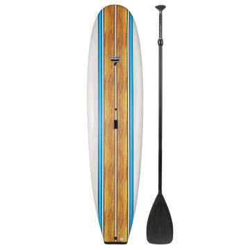 Torpedo7 10ft 6in Slick Bottom Soft SUP and Paddle Combo