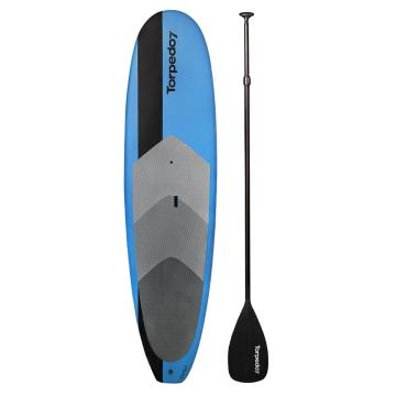 Torpedo7 9ft 6 EVST Soft Top SUP & Paddle Combo