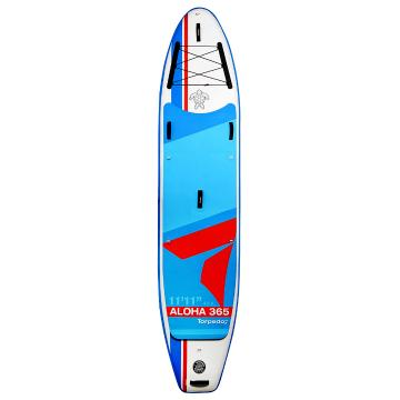 "Torpedo7 11'11"" Aloha III 365 Inflatable SUP Package - Red/Blue"